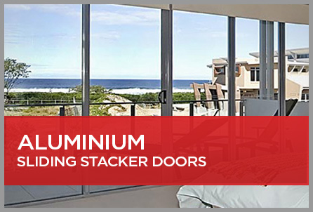 Aluminium Sliding Stacker Doors